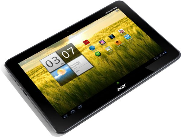Обзор планшета Acer Iconia Tab A510